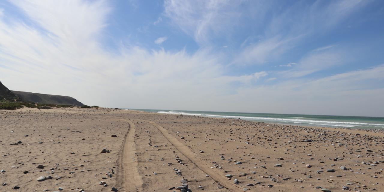 Gaunersumpf, Militärstreife und der unendliche Strand