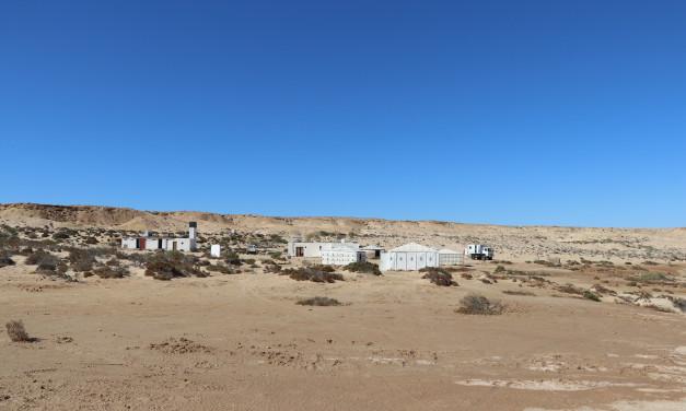 Abgetaucht im Saharastaub