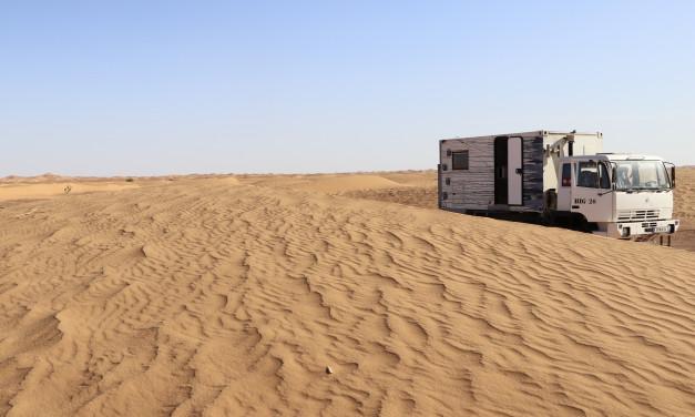 Der Sandhaufen und der Brunnenmann